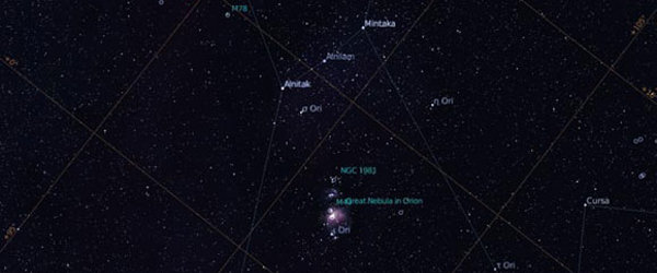 Stellarium screenshot