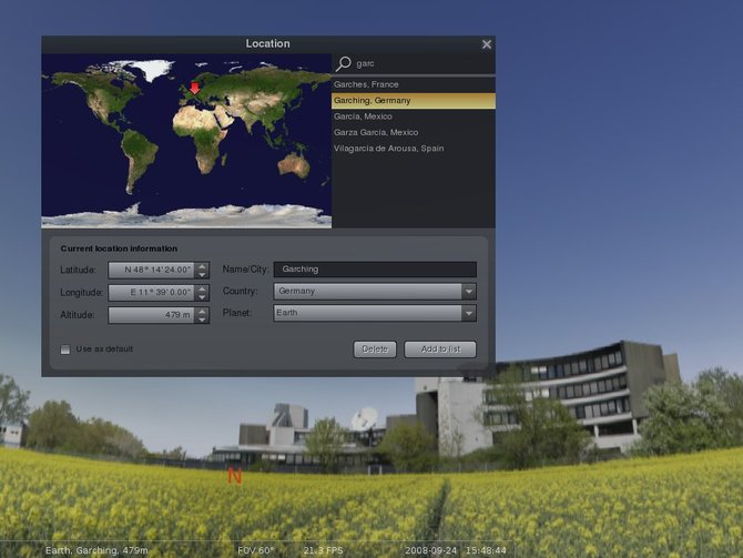 Windows 7 Stellarium for Windows (x64 bit) 0.21.0 full